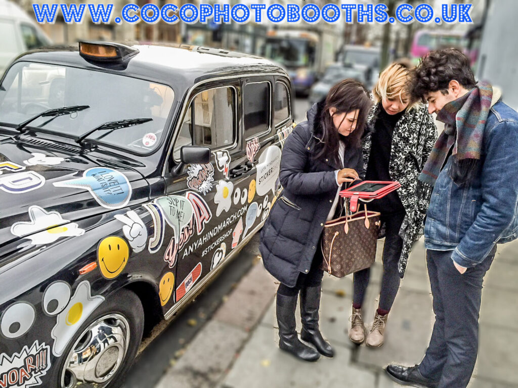 Taxi Photo Booth London